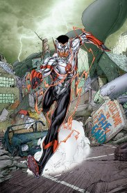Wally West is Impulse? (Cover of DC's The Flash: Futures End #1, by Norm Rapmund and Brett Booth)
