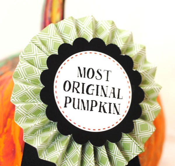 Free printable pumpkin decorating awards