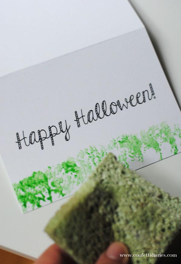 sponginghalloweencard