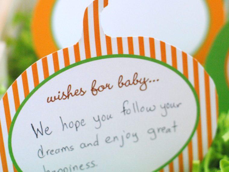 Baby Wish Card Pumpkin Patch