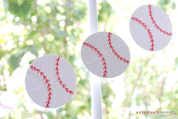 baseballpaperbuntingdecoration