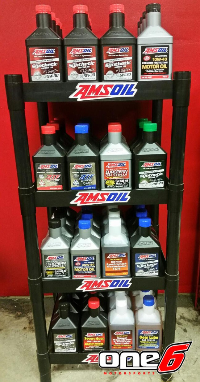 AMSOIL shelf