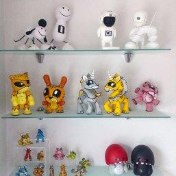 Vinyl artist toy collectibles