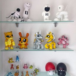 Vinyl artist toy collectibles