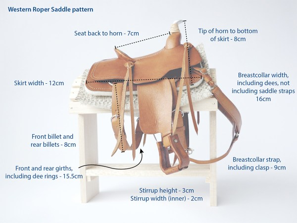 western-roper-saddle-pattern-sizes