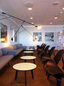 I Københavns Lufthavn kan du komme i loungen uanset hvem du flyver med eller om du har guldstatus eller ej.
