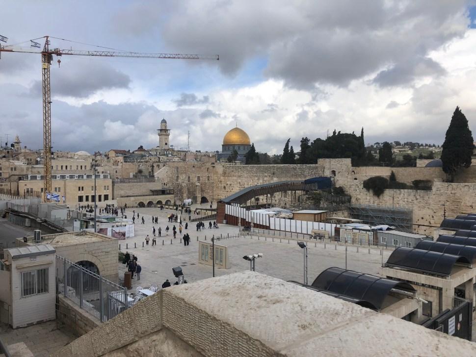 Klippemoskeen i Jerusalem