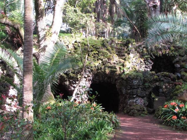 grottos you can walk through