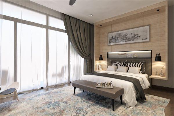 04 Master Bedroom - Bedhead View