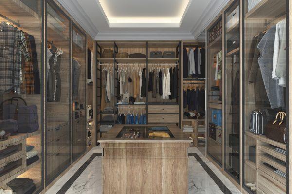 Walk In Wardrobe View