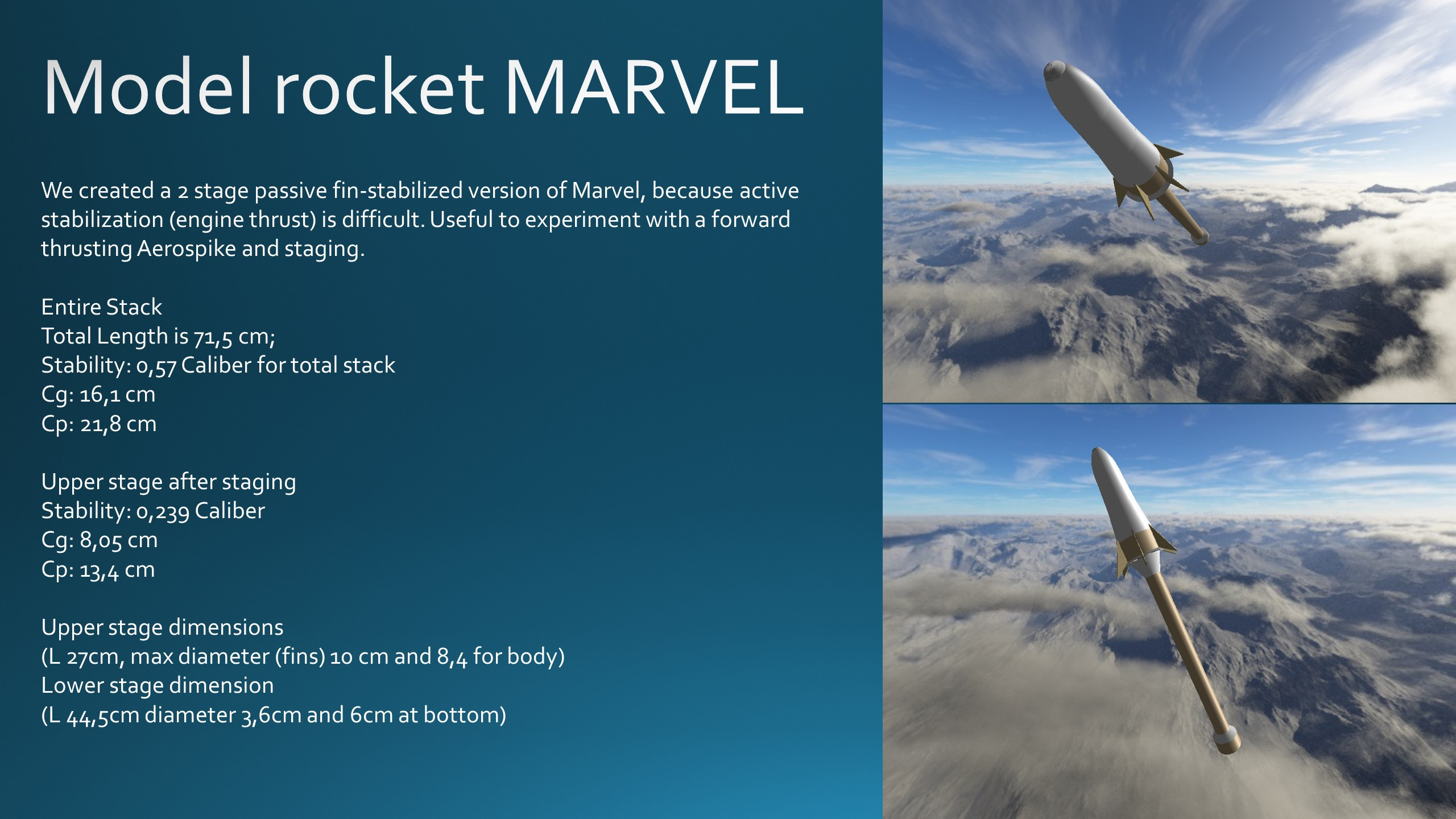 MARVEL Center of Gravity