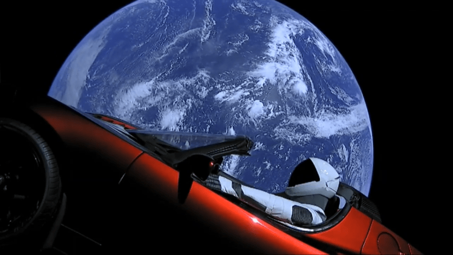 SpaceX SpaceMan