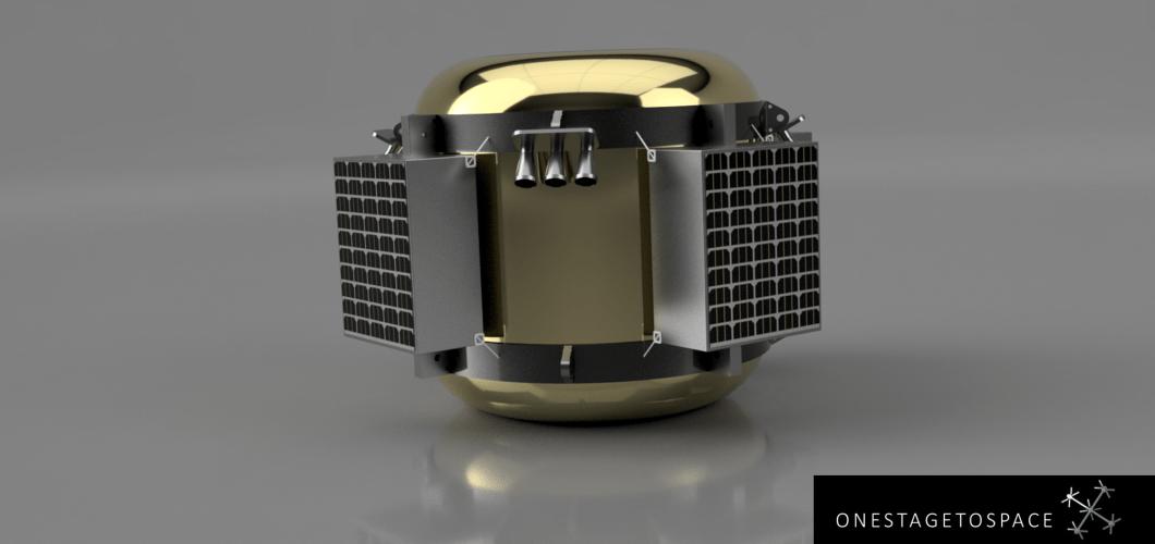 COLIBRI - Compact 200 kg lunar delivery system