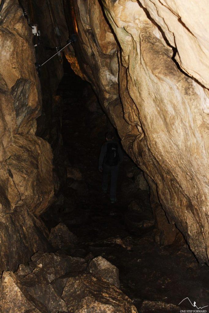 Wnętrze Jaskini Mroźnej, Dolina Kościeliska