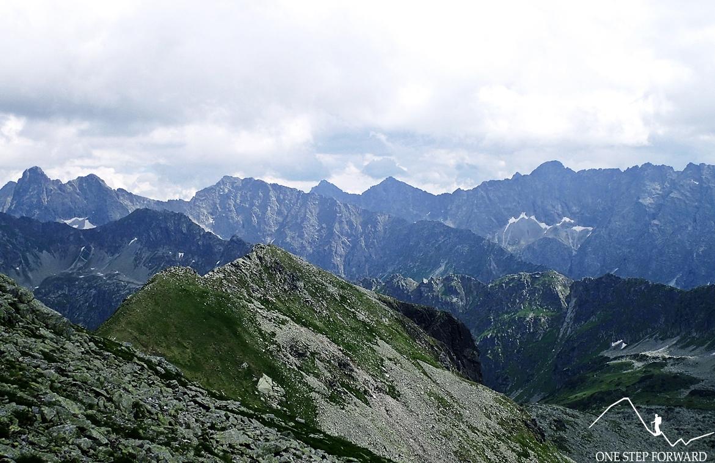 Panorama w kierunku południowym