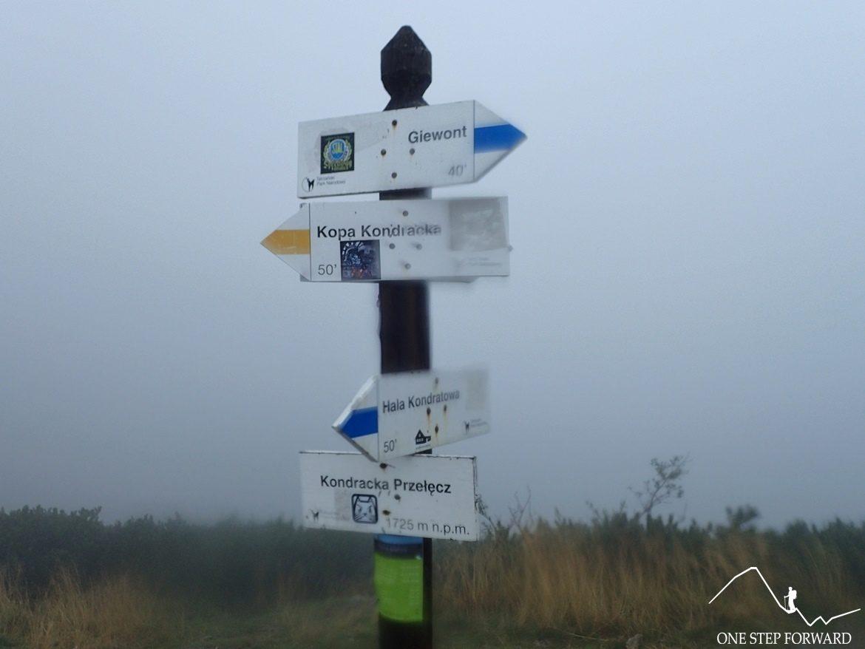 Przełęcz Kondracka i niesamowite widoki