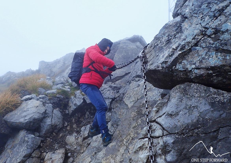 Zaczynamy schodzić w stronę Kondrackiej Przełęczy