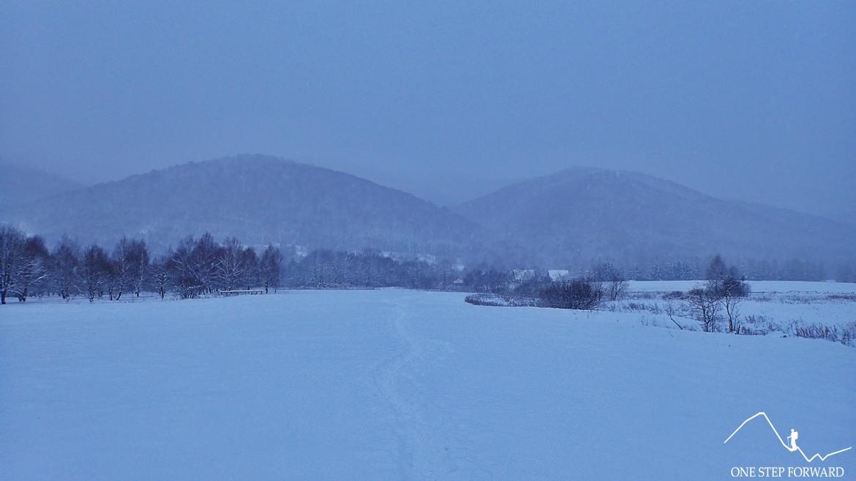 Szlak na Tarnicę zimą - Bieszczady