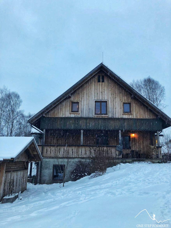 Chata Kruka - tył domu