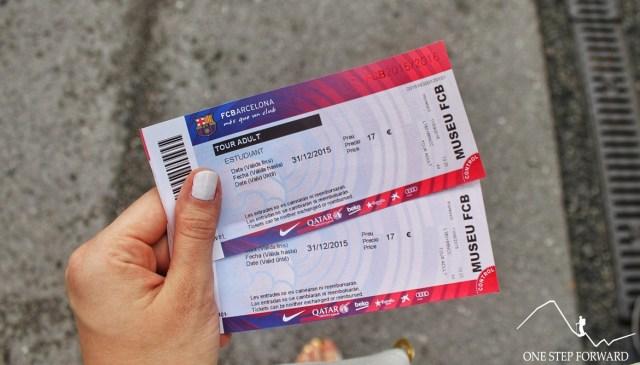 Bilety na Camp Nou
