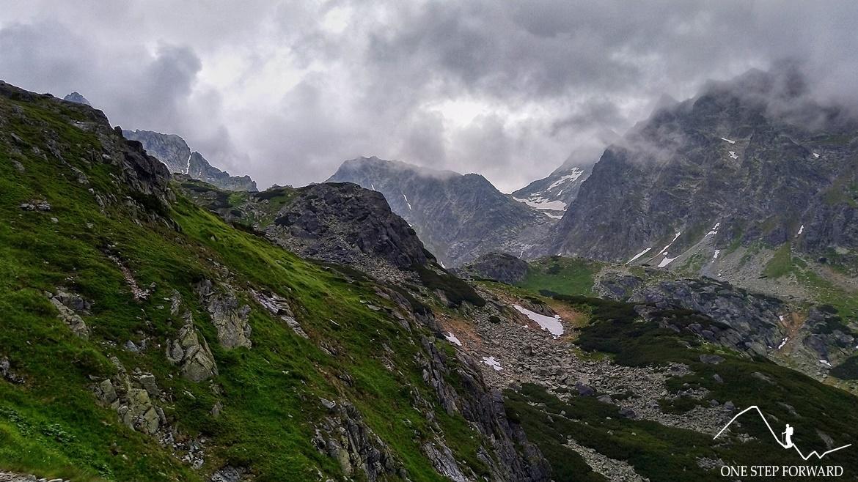 Dolina Mięguszowiecka - widok na Tatry Wysokie