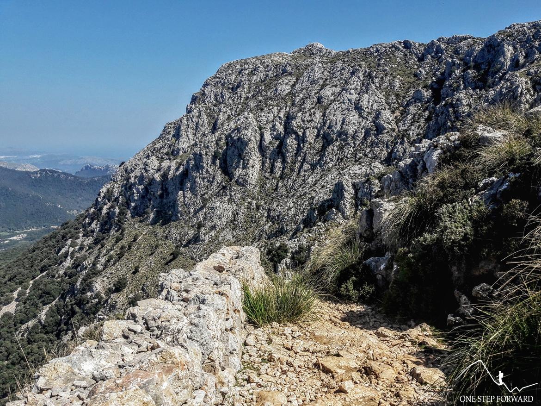 Droga na Casa de Neu d'in Galileu - trekking na Majorce