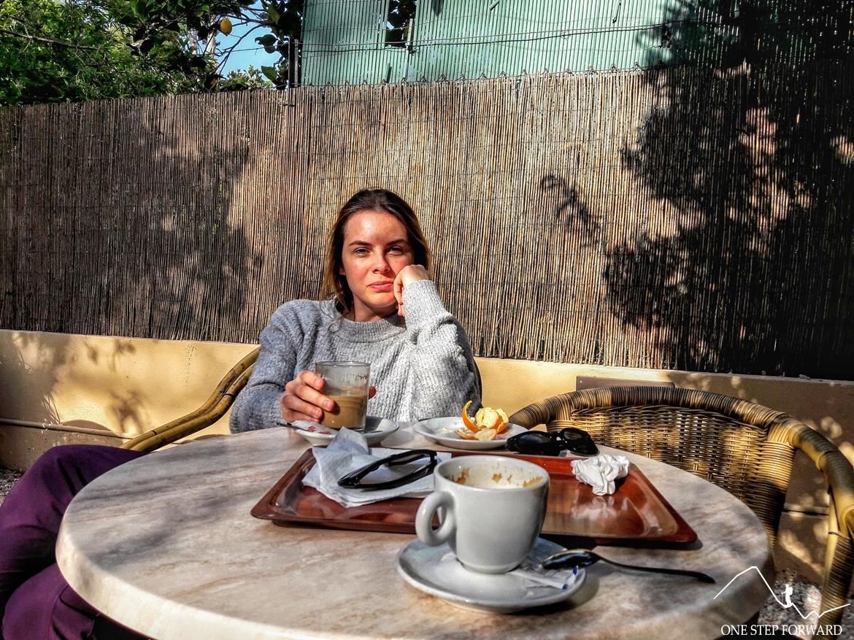 Valdemossa, Majorka - przerwa na kawę