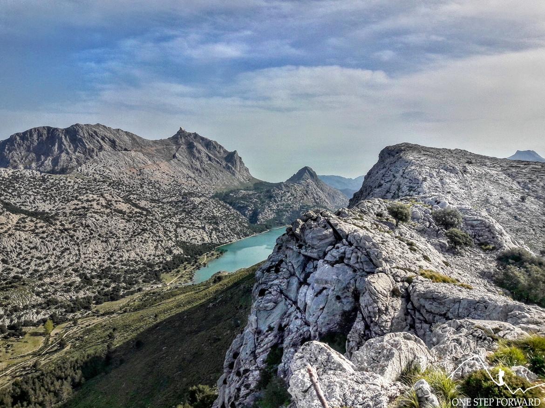 Panorama z Na Franquesa- Ruta de Tres Miles, Majorka