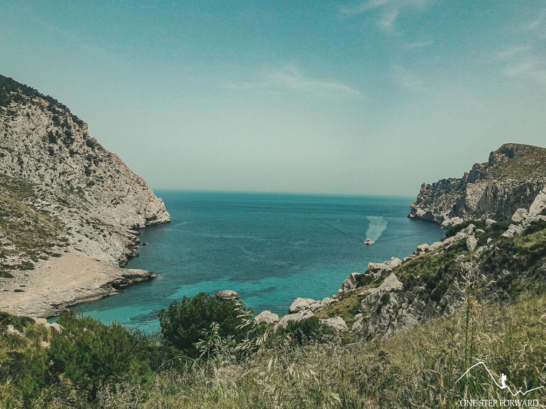 Błękitne wody Cala Figuera, Majorka