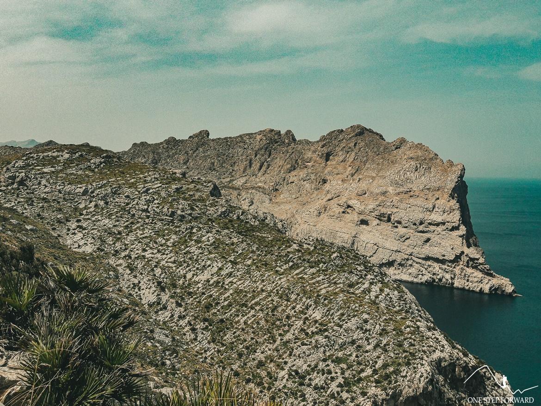 Widok z Mirador des Colomer - Cap de Formentor, Majorka