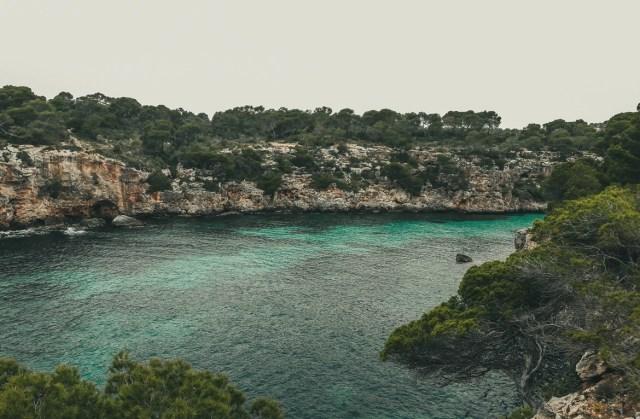Miejsce widokowe - Cala Pi, Majorka