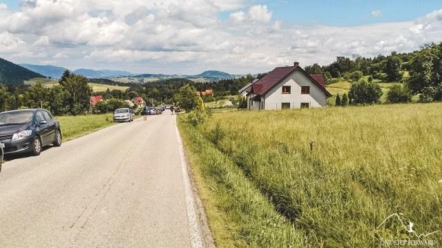 Dojście na przełęcz Rydza - Śmigłego