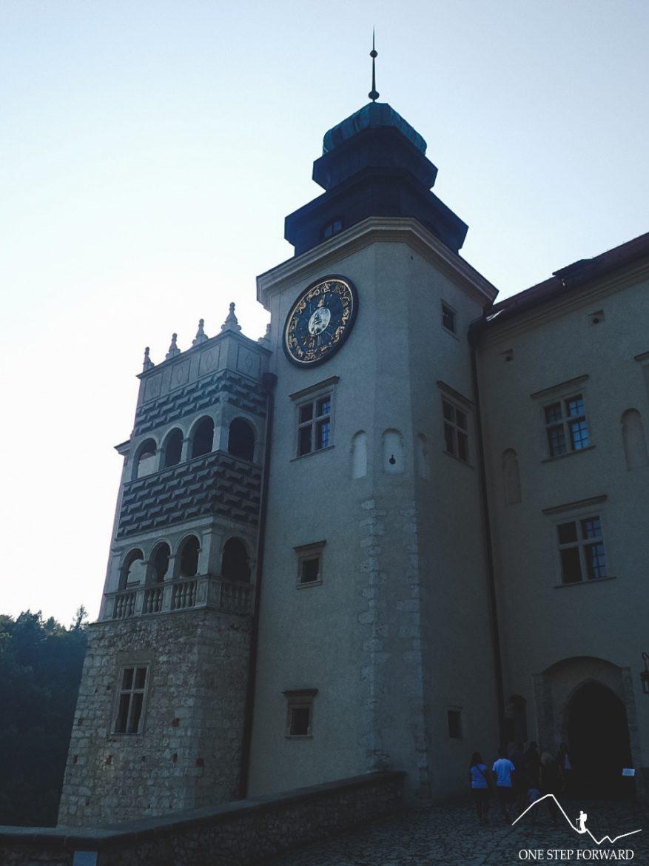 Zegar zamkowy - zamek w Pieskowej Skale