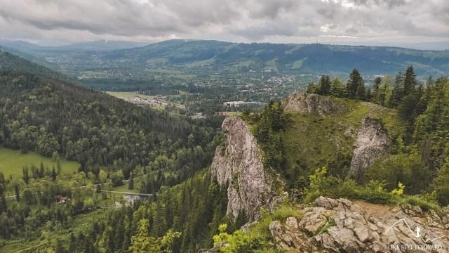 Nosal - widok na Zakopane