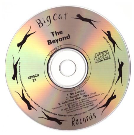 No Excuse CD disc