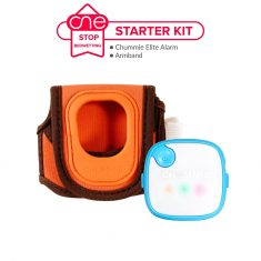 Chummie Elite Bedwetting Alarm Starter Kit - One Stop Bedwetting