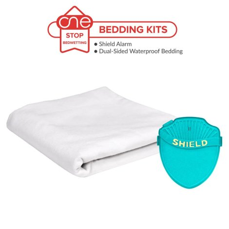 Shield Max Bedwetting Alarm Bedding Kit - One Stop Bedwetting