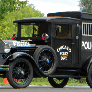 FORD MODLE A PADDY WAGON