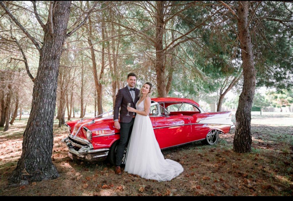 classic car, rental car, wedding car