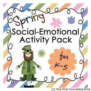 Spring Social-Emotional Activity Pack