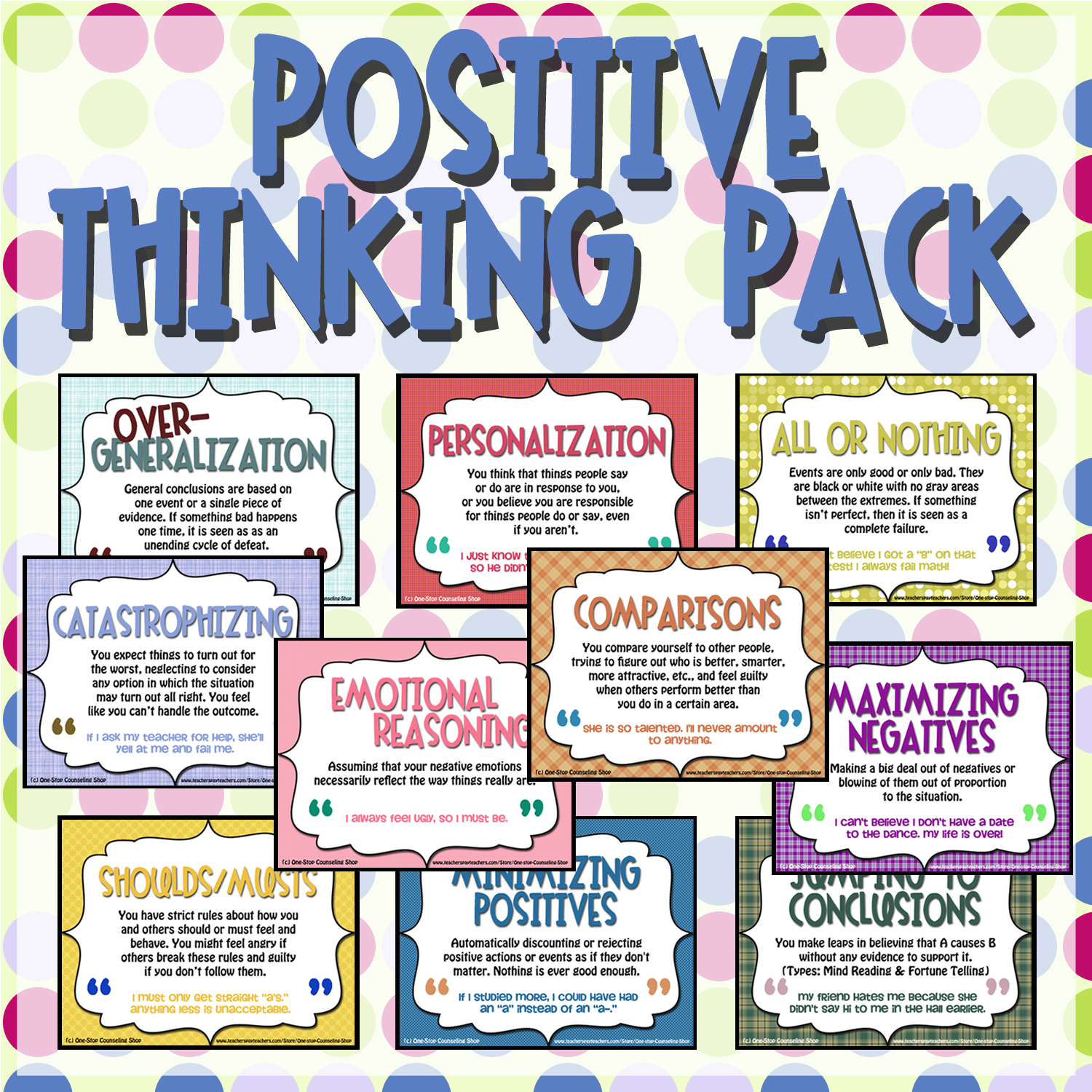 New Product Positive Thinking Pack