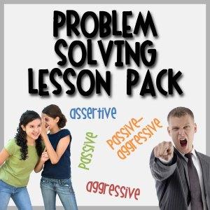 Problem Solving Lesson Pack