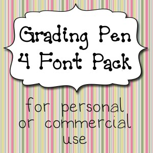 Grading Pen Pack Cover