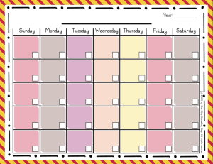 Calendar Warm