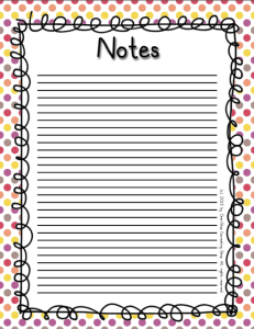 Notes 2 Warm