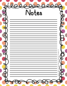 Notes 3 Warm