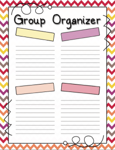 Group Organizer