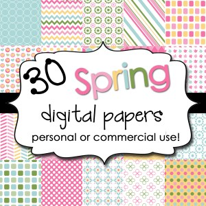 Spring Digital Backgrounds