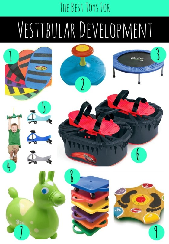 Toys for Vestibular Development