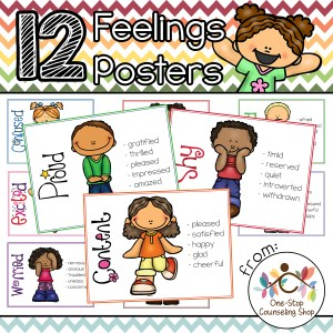 Feelings Posters & Coloring Pages